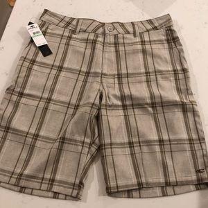 Men's O'Neill plaid shorts